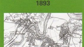 The Medway Towns 1893: One Inch Map 272 (Old Ordnance Survey Maps of England & Wales)