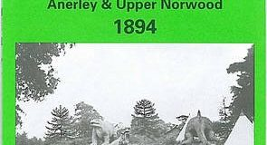 Crystal Palace, Anerley and Upper Norwood 1894: London Sheet 145 (Old O.S. Maps of London)