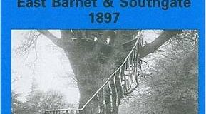 East Barnet and Southgate 1897: Middlesex Sheet 07.09 (Old O.S. Maps of London)