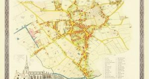 Old Map of Wednesbury 1846: Colour Town Plan of Wednesbury in the Black Country (Historic British Town Plans)