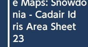 Outdoor Leisure Maps: Snowdonia - Cadair Idris Area Sheet 23
