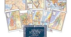 Bible Study Maps, Set Of 8