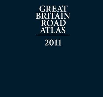 Great Britain Road Atlas 2011 Leather