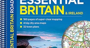 Philip's Essential Road Atlas Britain and Ireland 2017: Spiral