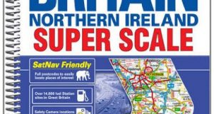 Great Britain Super Scale Road Atlas (A-Z Road Atlas S.)