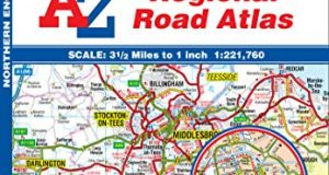 Northern England Regional Road Atlas (A-Z Regional Road Atlas)