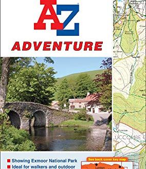 Exmoor Adventure Atlas (A-Z Adventure Atlas)