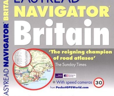 Philip's EasyRead Navigator Britain 2010: Flexi Paperback (Road Atlases)
