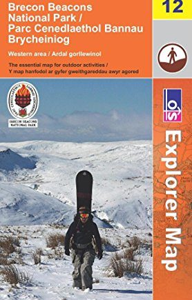 Brecon Beacons National Park: Western and Central Areas (OS Explorer Map) by Ordnance Survey (Folded Map, 5 Jan 2009) Paperback