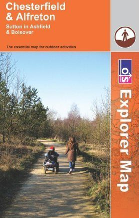 Chesterfield and Alfreton (OS Explorer Map) by Ordnance Survey (2009-10-05)