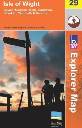 Isle of Wight (OS Explorer Map) by Ordnance Survey (2008-03-17)