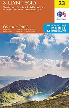 OS Explorer Active OL23 Cadair Idris & Llyn Tegid (OS Explorer Active)