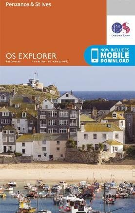 OS Explorer Map 102 Land's End: Penzance & St Ives (OS Explorer)