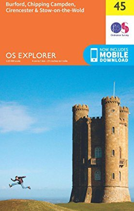 OS Explorer OL45 The Cotswolds (OS Explorer Map)