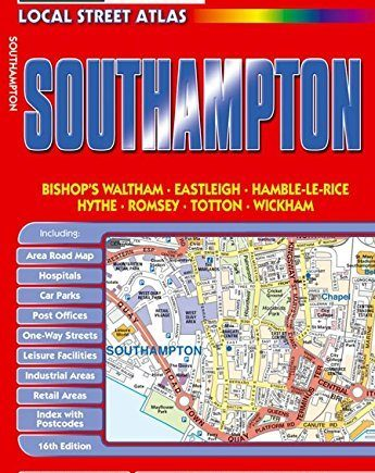 Philip's Red Books Southampton (Philip's Local Street Atlases) by Philip's (2010-08-03)