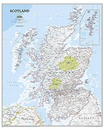 Scotland Classic, tubed (National Geographic Reference Map)