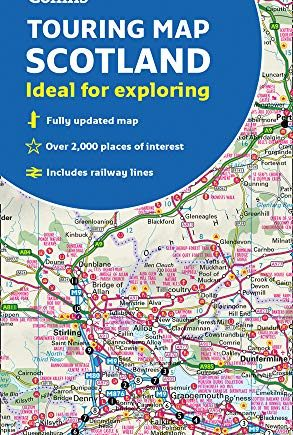 Scotland Touring Map: Ideal for exploring