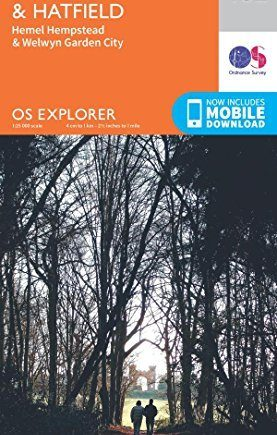 OS Explorer Map (182) St. Albans and Hatfield by Ordnance Survey (2015-09-16)