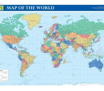 Philip's Map of the World: Political: Compact Format (Philip's Wall Maps)