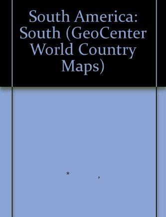South America: South (GeoCenter World Country Maps)