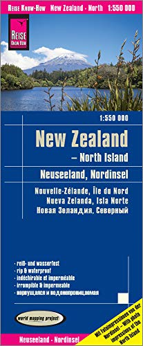 New Zealand - North Island: world mapping project