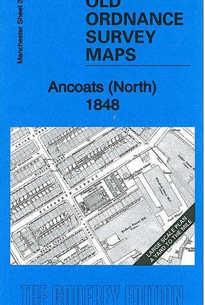 Ancoats (North) 1848: Manchester Large Scale Sheet 25 (Old Ordnance Survey Maps - Yard to the Mile)