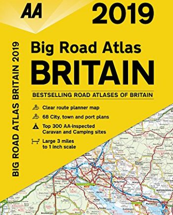 Big Road Atlas Britain 2019 PB (AA Road Atlas Britain)