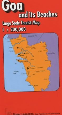 Goa and Its Beaches: Tourist Map (Red Cover S.)