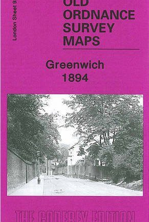 Greenwich 1894: London Sheet 092.2 (Old O.S. Maps of London)