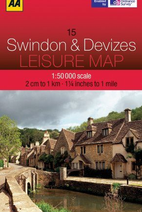 Leisure Map Swindon and Devizes (AA Leisure Guide)