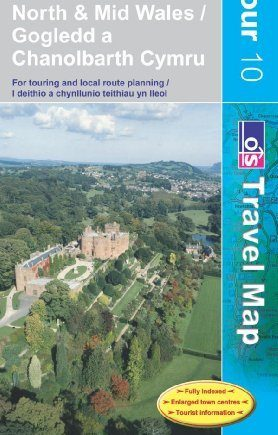North and Mid Wales (OS Travel Series - Tourist Map) (OS Travel Map - Tour Map) by Ordnance Survey (June 21, 2007) Paperback