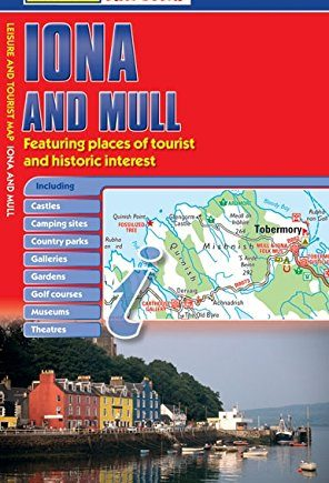 Philip's Red Books Iona and Mull: Leisure and Tourist Map