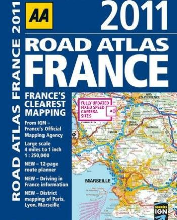 Road Atlas France 2011