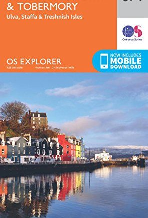 OS Explorer Map 374 Isle of Mull North and Tobermory OS Explorer Paper Map (OS Explorer Active Map)