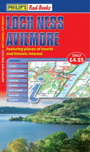 Philip's Red Books Loch Ness and Aviemore (Leisure & Tourist Maps)