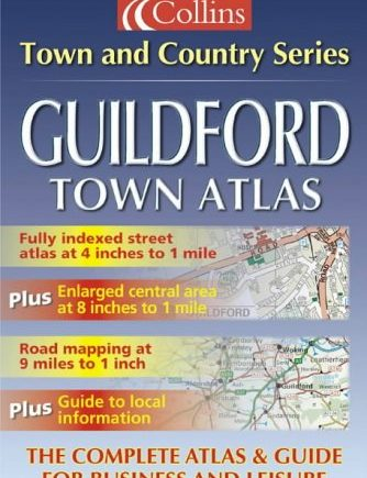 Town and Country – Guildford Town Atlas (Town & Country Street Atlas S.)