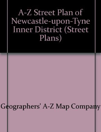 A-Z Street Plan of Newcastle-upon-Tyne Inner District (Street Plans)