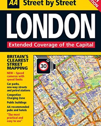 AA Street by Street London: Maxi (AA Street by Street): Extended Coverage of the Capital
