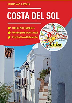 Costa Del Sol Marco Polo Holiday Map - pocket size, easy fold Costa del Sol map (Marco Polo Holiday Maps)