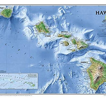 Hawaii, laminated: Wall Maps U.S. (National Geographic Reference Map)