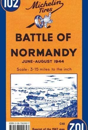 Michelin Historical Map 102: : Battle of Normandy (Michelin Historical Maps) by Michelin Travel Publications (1997-12-01)