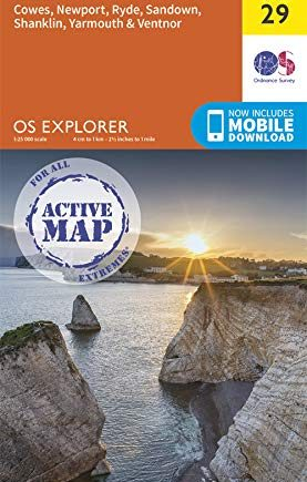 OS Explorer Active OL29 Isle of Wight (OS Explorer Active)