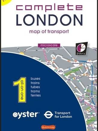 Complete London: Map of Transport (All-on-One (Microscale))