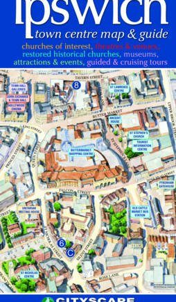 Ipswich Town Centre Map and Guide