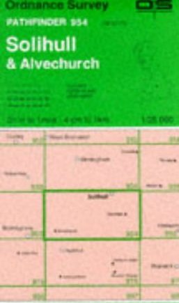 Solihull and Alvechurch (Pathfinder Maps)