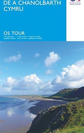 South & Mid Wales (OS Tour Map) by Ordnance Survey (2016-02-24)