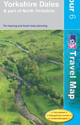 Yorkshire Dales (OS Travel Series - Tour Map) (OS Travel Map - Tour Map)