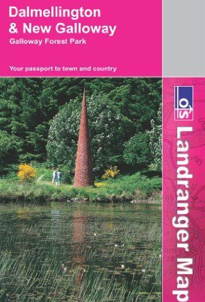 Dalmellington, New Galloway and Galloway Forest Park (OS Landranger Map Series)