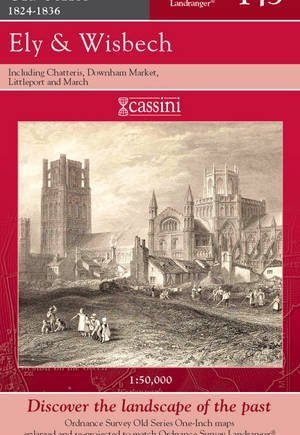 Ely and Wisbech (Cassini Old Series Historical Map)