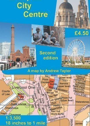 Liverpool City Centre Map, 2nd Edition